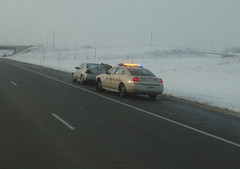traffic stop (Ruin Raider) Tags: minnesota sheriff hiway trafficstop