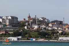 Vista de Ribadeo desde el Puerto de Figueras, Asturias. Espaa.. (RAYPORRES) Tags: espaa puerto abril asturias galicia lugo ribadeo figueras 2013