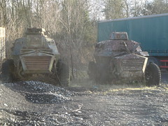 Alvis Saracens (GoldScotland71) Tags: cars army military vehicles alvis saracen armoured