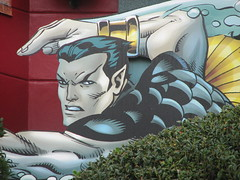 Namor on Marvel Super Hero Island (FranMoff) Tags: superhero universal marvel themepark submariner islandsofadventure marvelsuperheroisland namor imperiusrex