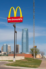 towers (ezeiza) Tags: city food building oklahoma sign skyline skyscraper restaurant drive energy downtown fastfood fast center sonic mcdonalds devon drivethru through ok oklahomacity drivethrough thru devonenergy devonenergycenter