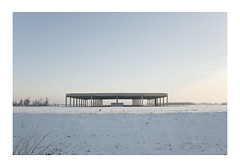 (silviacrema) Tags: city sky white snow infinity structure emptiness approvato