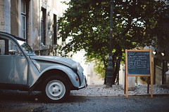 . (joannablu kitchener) Tags: travel portugal car vintage honeymoon lisboa lisbon portugese