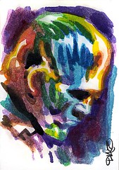 The Ghoul Art by Luis Diaz-12 (Luis Diaz Art) Tags: boriskarloff theghoul artofrobertaragonsketchcards artbyluisdiaz