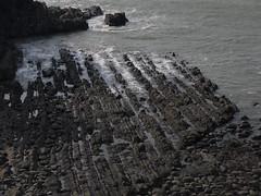 Blegberry Beach (Worthing Wanderer) Tags: sun lighthouse coast seaside spring path cliffs devon shipwreck april northdevon hartlandpoint southwestcoastpath