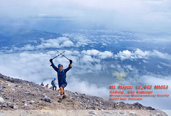 The Courage (dhainel) Tags: mountain clouds volcano philippines happybirthday mountaineering bouldering bicol mountaineer courage mtmayon lifeanddeath albay activevolcano newtrail difficultroute mtmayonvolcano looserocks legaspicity bicolana metropolitanmountaineeringsociety daniponciano summer2013 teammms jerryescosio