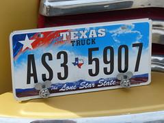 1948 chevy pickup (bballchico) Tags: 1948 chevrolet pickup austintexas carshow licence ratfink lonestarroundup manuelsanchez motorkatzcc lonestarroundup2013