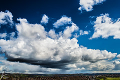 Lurking over Stoke on Trent. 27/04/2013 (Toby Tomlins Photography) Tags: cloud storm rain scape stoke