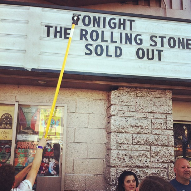 Holy shit! The Rolling Stones playing tonight at the #Echoplex | #echopark #rollingstone #concert #music #losangeles