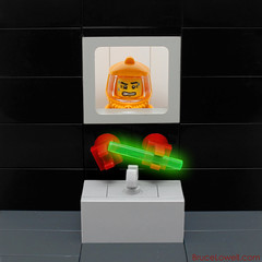 Careful! (bruceywan) Tags: lego radioactive minifig photostream hazmat moc glovebox ib3 inanimatecarbonrod ironbuilder brucelowellcom ibbl3