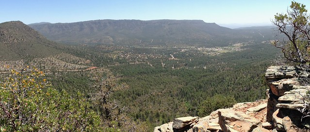 Pine, AZ from Strawberry Mountain
