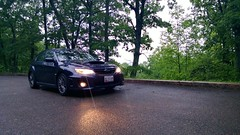 On a Misty Blue Ridge Parkway (tadnkat) Tags: virginia nokia subaru wrx blueridgeparkway lumia920