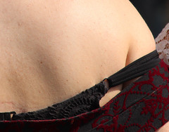 girl back skin bra strap (320828282) Tags: woman hot girl closeup female back skin body bra sunny strap