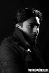 sts1-9184 (SanieStudio) Tags: lighting portrait people studio dramatic classy peacoat