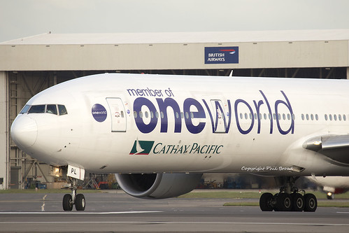 "Cathay Pacific ""One World"" Boeing 777-300 B-KPL"