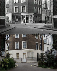 Innocent Sinners`location`1958-2013 (roll the dice) Tags: old uk blackandwhite london art history classic westminster children victoria collection ww2 1958 actor local rank drama blitz filming mews leacock pimlico locations oldandnew pastandpresent londonist bygone hereandnow