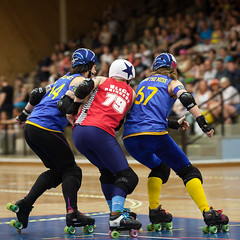 """Stockholm BSTRDs vs. Dock City Rollers-22 • <a style=""""font-size:0.8em;"""" href=""""http://www.flickr.com/photos/60822537@N07/8995163381/"""" target=""""_blank"""">View on Flickr</a>"""
