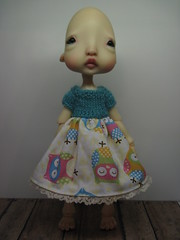 New Dresses (lovetherain-gina) Tags: ball doll knit dresses bjd bodice kane humpty jointed nefer lovetherain