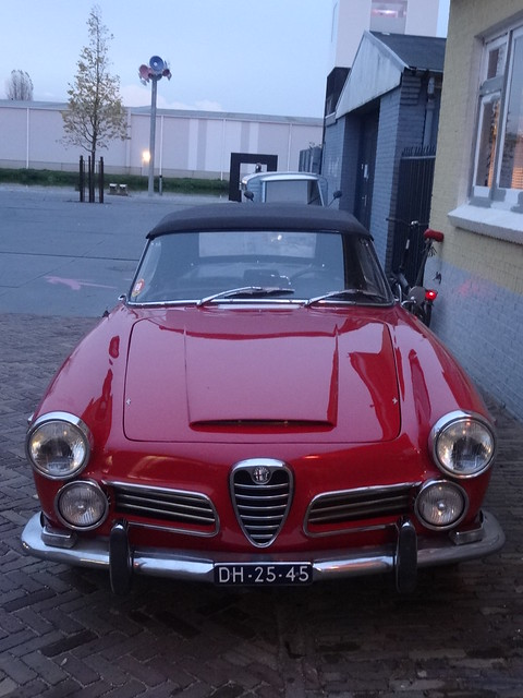 spider alfa romeo 1992 deventer 2600 1965
