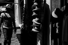 Hats (Toygun zbek) Tags: street city light shadow blackandwhite holiday hat streetphotography stranger bnw streetphotographybw