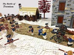 Meet the 5th US President, James Monroe (Gary^The^Procrastinator) Tags: brickfair virginia america 1776 lego diorama historylug afol wamalug revolutionarywar americanwarofindependence battleoftrenton trenton battle fight winter hessian hessians continentals continentalarmy army soldier cannon artillery war surprise snow ice town musket us president jamesmonroe history historical