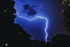 Lightning (austinkaydirect) Tags: storm weather lightning long exposure canon canon5d