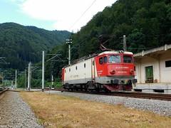 EA in Sinaia (bel Biszak) Tags: gara tren romania cfr train electrica gfr marfar freight coach vagon passanger 2055 2054 2147 te rama ea craiova electric zug bahnhof