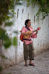 Life is a song - Sing it (RaminN) Tags: street performer playing guitar granada spain streetphotography