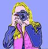 Pop Art Photographer (Laurie2123) Tags: me selfportrait selfie popart ourdailychallenge odc2 odc2016 cmwd cmwdpinkorpurple