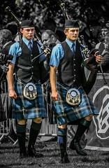 Pipers (FotoFling Scotland) Tags: event glasgow glasgowgreen scotland worldpipebandchampionships bagpipe kilt meninkilts pipers scottish