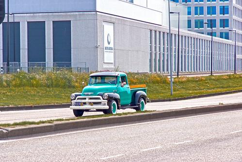 Chevrolet 3100 Step Side Pick-Up Truck 1955* (9578)