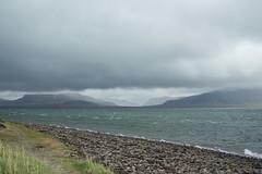 Kirkjufell 12 (sarahmonious) Tags: kirkjufell snfellsnespeninsula snfellsnes mountain churchmountain fog clouds ocean ringroad route1iceland route1 iceland iceland2016 traveling