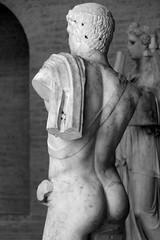 Male Nude (just.Luc) Tags: man male homme hombre uomo nude naked nackt naakt nu nudo desnudo escultura sculpture museum muse glyptothek bw nb bn zw bavire beieren bayern bavaria munich mnchen duitsland deutschland allemagne germany