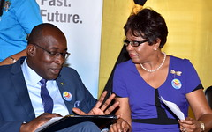 Education, Youth and Information Minister, Senator the Hon. Ruel Reid on International Literacy Day