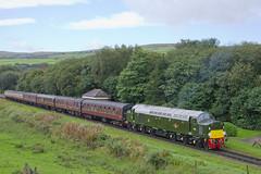 Andania on the East Lancs Railway (Vodka Burner) Tags: d213 40013 class40 andania elr eastlancashirerailway heritagerailway autumndieselgala irwellvale lancashire class40preservationsociety