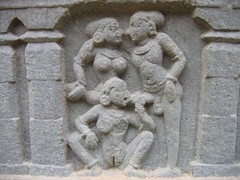 Hosagunda Temple Sculptures Photos Set-1-Erotic sculptures (13)