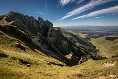 Puy de Sancy, sous la canicule (mzagerp) Tags: auvergne valle de chaudefour puy sancy des crbasses mont dore chastreix cirque la fontaine sale ferrand perdrix france montagne volcans volcano massif central