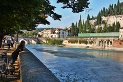 Verona...l'Adige e Ponte Pietra. (Ivo Markes) Tags: verona veneto italy italia adige