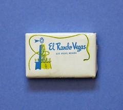 El Rancho Vegas - Las Vegas, Nevada - travel soap (hmdavid) Tags: vintage travel soap elrancho lasvegas nevada hotel casino advertising midcentury art illustration souvenir