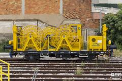 Vagó Elecnor (Escursso) Tags: adif catalunya comarruga elecnor renfe svc santvicençdecalders tarragona trainspotting dresina rail railway spain train tren