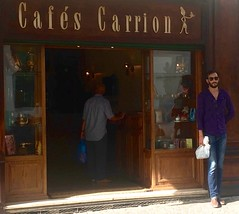 Cafs Carrion (Ashraf Khalil) Tags: carrion caf coffee tetouan grano de oro