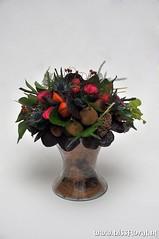 Diabolo #Vaas... (floralworkshops) Tags: lampion roos sedum