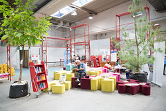 Real and Digital Library-Stadtbibliothek Linz (AT) (Ars Electronica) Tags: 2016 arselectronica arselectronica2016 arselectronicafestival arselectronicafestival2016 austria linz mediaart postcity radicalatomsandthealchemistsofourtime realanddigitallibrary upperaustria art future science society technology obersterreich sterreich at