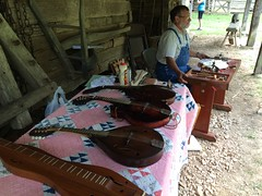 Homeplace Trades Fair 2016 (LandBetweentheLakesKYTN) Tags: homeplace1850sfarm lbl landbetweenthelakeskytn publiclands outdoorexhibits farmanimals workingfarm tamworth dominiquechickens heritagebreeds pigs forestservice dover tennessee oldtime crafts tradesfair blacksmithing needlework cornshuckdolls