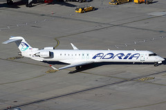 Adria Airways Bombardier CRJ-900 S5-AAL (c/n 15129) (Manfred Saitz) Tags: vienna airport schwechat vie loww flughafen wien adria airways bombardier crj900 cr9 crj9 s5aal s5reg