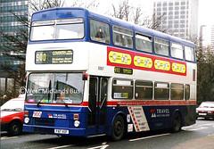 3087 (WT) F87 XOF (WMT2944) Tags: 3087 f87 xof mcw metrobus mk2a west midlands travel