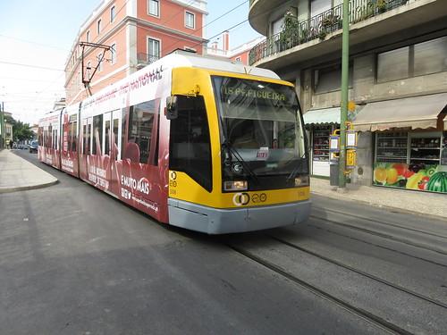 Tram 508 de Lisbonne (Portugal)