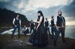 LAST DAYS OF EDEN (Nat Mora Domingo -Enmede-) Tags: lastdaysofeden metal metalsinfonico symphonic celticmusic asturias banda grupo gaita guitarra playa natenemede photography canon