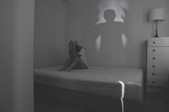 255/365 (Ell@neese) Tags: manipulation art idea creative girl woman ghost scary people pentax 365 sadness sad shadow