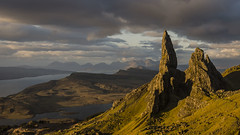 I was up at stupid o'clock . . . Explore 28-09-2016 (Brad Eide) Tags: innerhebrides skye isleofskye scotland oldmanofstorr glamaig lochleathan soundofraasay raasay duncaan redhills landscape goldenlight sunrise stupidoclock storr waitingforthelight clouds mountain water serene sea vista picturesque crystal solitude outdoor illuminated bradeide nikon d7000 nikon18105mm gitzo neutraldensity filter leefilter may 2013 spring geotagged
